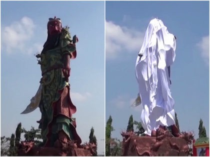 Muslim-Majority Indonesia Covers 'Tallest' Statue of Chinese God Following Protests