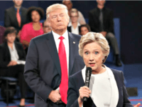 Hillary Clinton Resorts to Old Tactics in Upcoming Book, Attacks Trump for 'Invading Her Space'