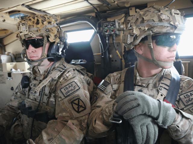 US troops military