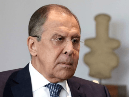 Russian foreign minister Sergey Lavrov pauses during talks with the Cyprus' foreign minister Ioannis Kasoulides, at the foreign ministry in capital Nicosia, Cyprus, on Thursday, May 18, 2017. Lavrov is in Cyprus for two-day working visit. (Yiannis Kourtoglou, Pool via AP)