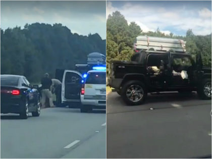 Police: Man Drives Down Arkansas Highway with Casket on His Roof, Leads Cops on Chase