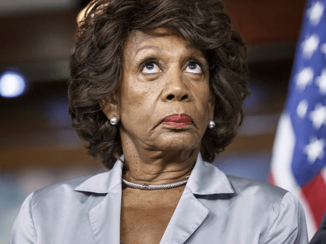 Rep. Maxine Waters, D-Calif., listens to comments by House Minority Whip Steny Hoyer of Md., as she and fellow Democrats criticize the efforts of Republicans to muscle legislation through the House authorizing an election-year lawsuit against President Barack Obama that accuses him of exceeding his powers in enforcing his health …