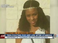 VIDEO: 12-Year-Old Girl Allegedly Stabs Teen in Middle School Fight During First Week of Classes