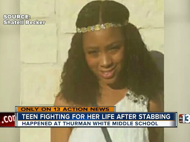 UPDATE: Victim's mom speaks out after stabbing at Thurman White Middle School