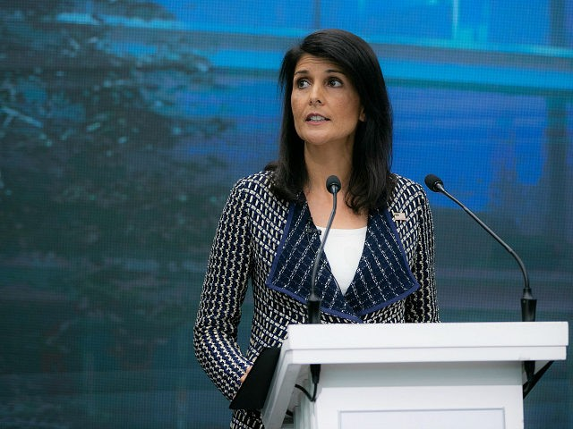 Nikki Haley to Travel to Vienna to Consult IAEA Officials on Iran Nuclear Deal