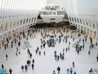 "In this Thursday, June 15, 2017, photo, people walk inside the Oculus, the new transit station at the World Trade Center in New York. Researchers are gearing up to start recruiting 10,000 New Yorkers early next year for a study so sweeping it's called ""The Human Project."" They'll be asked …"