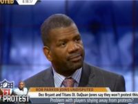 FS1's Rob Parker Rips 'Selfish' Dez Bryant for Not Protesting National Anthem: 'He Doesn't Understand'