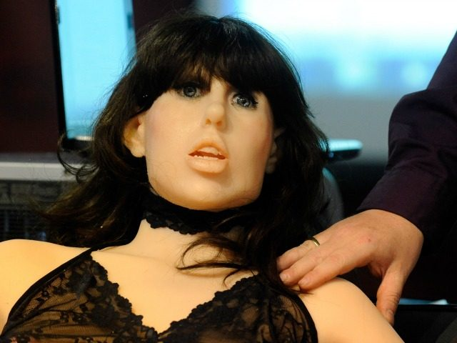 Sex Robot 'Samantha' Appears on British Morning TV Show