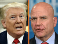 President Donald Trump seemed to channel key sentiments previously expressed in policy speeches delivered by embattled White House National Security Adviser H.R. McMaster