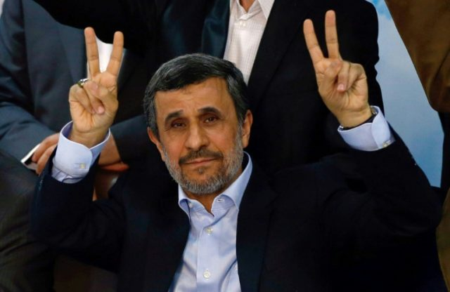 Former hardline Iranian president Mahmoud Ahmadinejad was barred from running in presidential elections in May