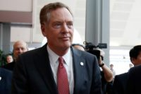 Axios: China Hawk Robert Lighthizer Growing Influence in Trump White House
