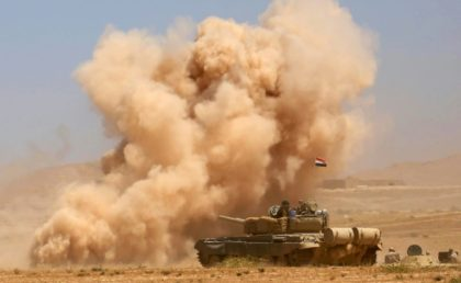 The Iraqi government announced the beginning of a military operation to retake Tal Afar from Islamic State group jihadists on August 20, 2017