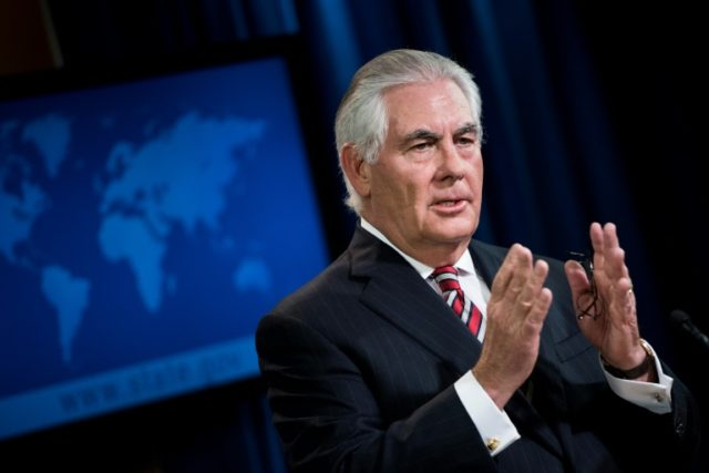 U.S. secretary of state Rex Tillerson commends North Korea's 'restraint'