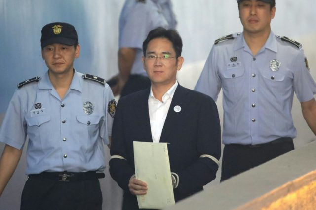 Samsung heir Lee Jae-Yong faces multiple charges including bribery, embezzlement and perjury