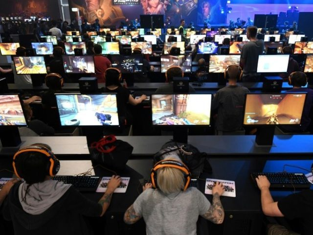 Yes, this could be your day job. Lavish cash prizes have allowed some computer game players to go professional, competing on eSports teams.
