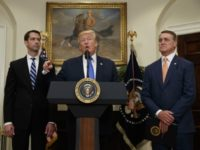 Donald Trump, Tom Cotton, David Perdue