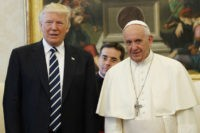 Reuters 'Fake News' Spins Pope Against Trump