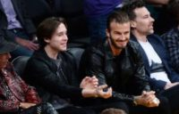 David Beckham drops son Brooklyn off at college in New York