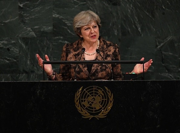 UK PM May Dings Trump at U.N. General Assembly: Backs Paris Agreement, Lectures on Refugees