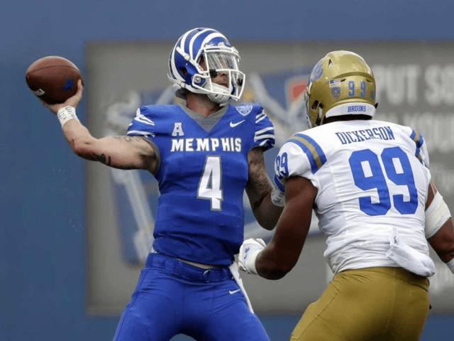 Memphis 34, UCLA 31, third quarter