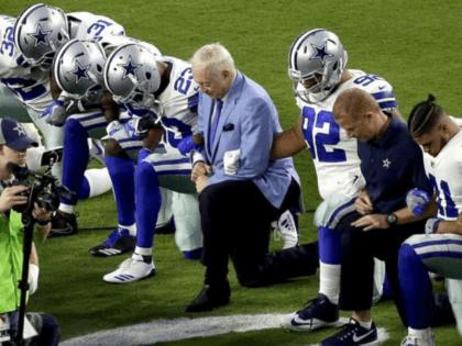 America's Team Surrenders: Cowboys kneel Before National Anthem Against Arizona