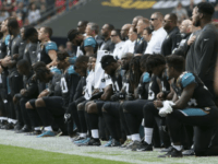 Politics Over the Water's Edge: Jags and Ravens, Coaches and Owner, Stage Massive Anti-Trump Anthem Protest in London