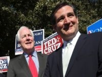 Senators John Cornyn and Ted Cruz.