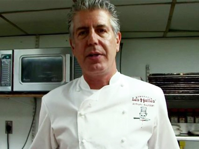 CNN Celebrity Chef Anthony Bourdain Says He ... - YouTube