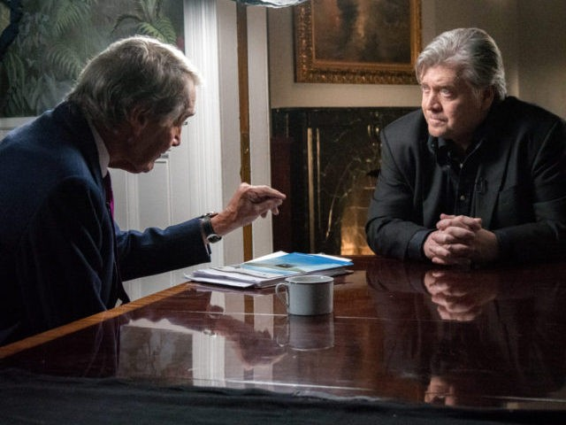 Bannon: There's Been a 'Divide' in Trump Administration 'From the Beginning'