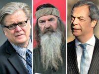Bannon, Robertson, Farage Getty