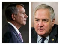 John Boehner and Luther Strange collage