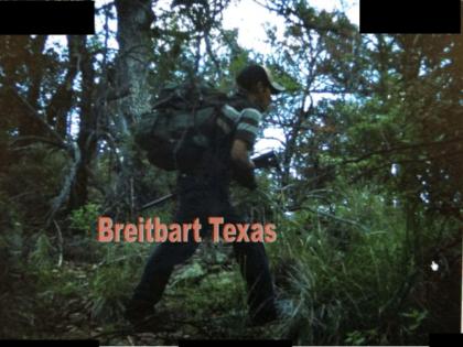 Armed Cartel Smuggler on Border