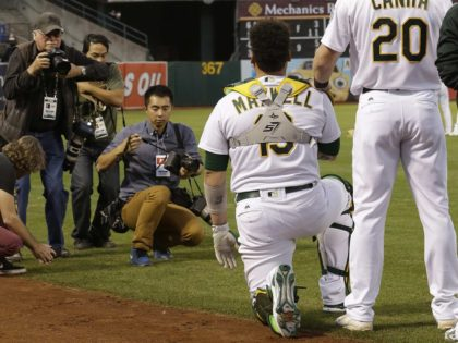 Bruce Maxwell (Ben Margot / Associated Press)
