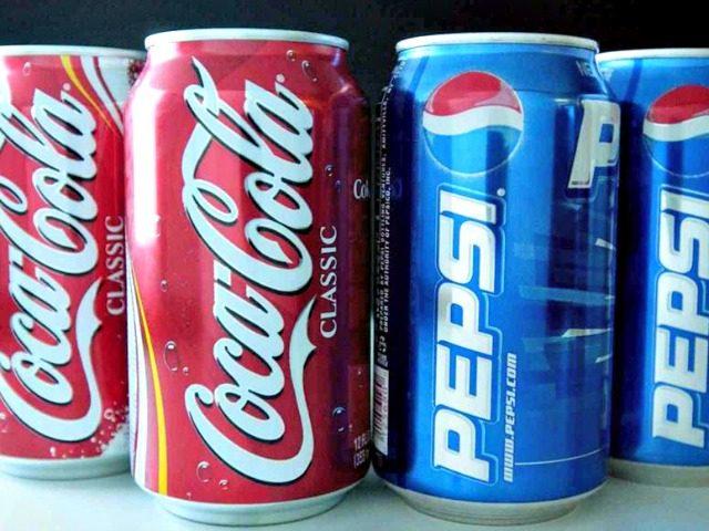 Coke vs Pepsi Getty Images
