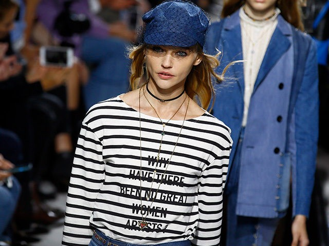 Dior Paris Show Puts Focus on Feminism: 'Why Have There ...