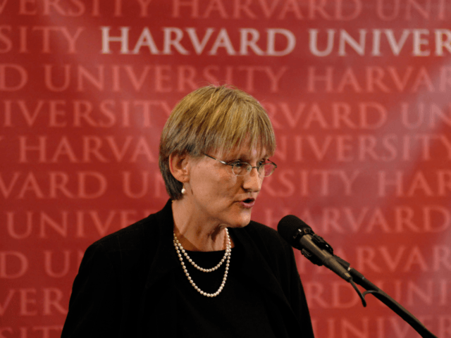 Drew Gilpin Faust of Harvard (Jodi Hilton / Getty)