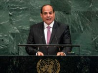 Egyptian President Abdel Fattah al-Sisi addresses the United Nations General Assembly Tuesday, Sept. 19, 2017, at the United Nations headquarters. (AP Photo/Frank Franklin II)