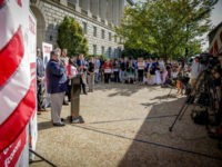 Job Creators Network TaxCutsNow bus tour ends with a small business tax reform rally on the steps of the IRS building in Washington, D.C.