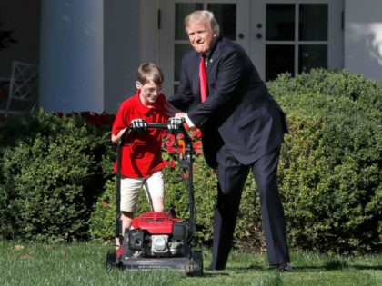 Former NYT Reporter: White House Sent Wrong 'Signal' by Having 11-Year-Old Frank Giaccio Mow Lawn
