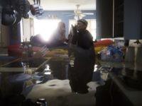 Flooded Houston home