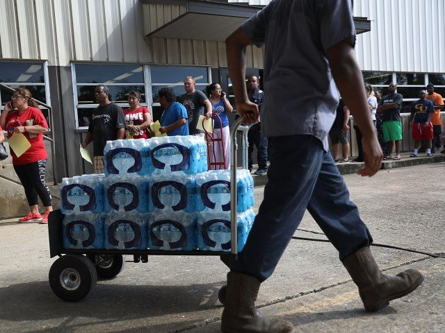 Beaumont loses water supply after flooding from Harvey