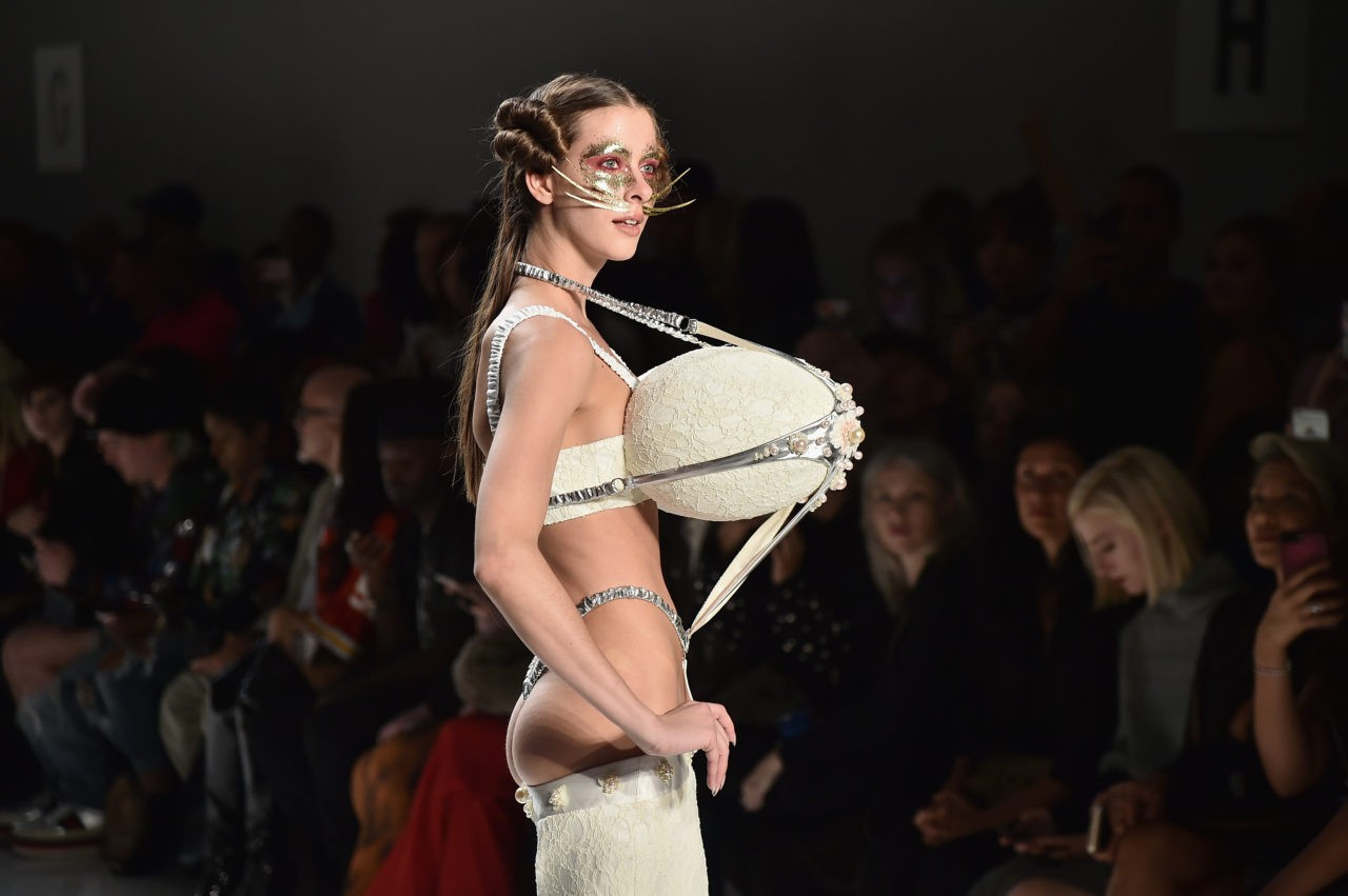 Photos: Designer Celebrates Vaginas at New York Fashion Week