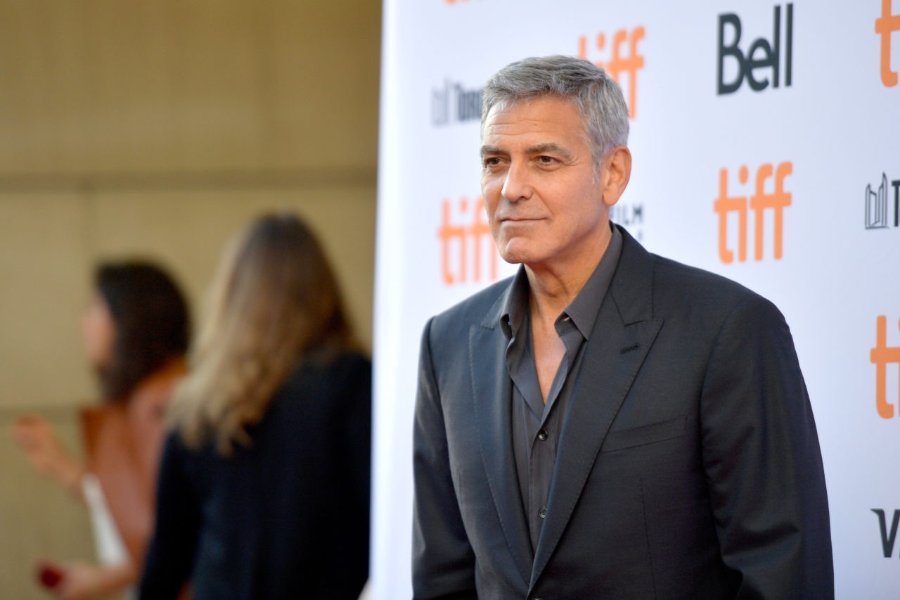 George Clooney prays for unity as celebs back #TakeAKnee