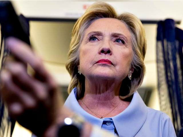 Hillary Clinton stare