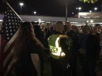 Watch: Alabama Trump Rallygoers, Anti-Trump Protesters Mix It Up After Event