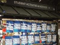 Flyers put up in Berkeley California in support off Berkeley Free Speech Week