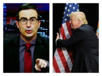 HBO's John Oliver Lies About Trump Rubbing U.S. Flag Against His 'Old Boner'