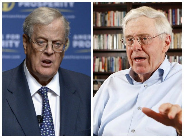 David Koch and his brother Charles have given millions of dollars to libertarian causes (Photo Credit: AP).