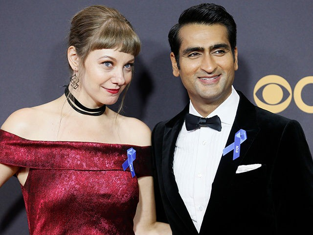 Celebs wear ACLU ribbons at Emmys