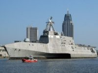 Littoral Combat Ship Mobile, Alabama (U.S. Navy. General Dynamics / Getty)
